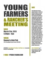 YOUNG FARMERS AND RANCHERS MEETING